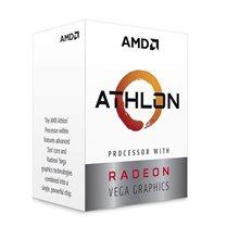AMD Athlon 3000G with Radeon Vega 3 Graphics Desktop Processor 2 Cores 3.5GHz 5MB Cache AM4 Socket