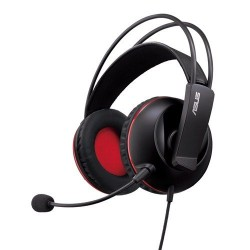 ASUS CERBERUS Gaming headset, with large 60mm neodymium drivers, designed for both PC...