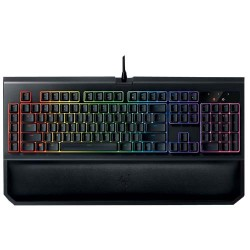Razer BlackWidow Chroma V2 Mechanical Gaming Keyboard - Yellow Switch (RZ03-02032300-R3M1)