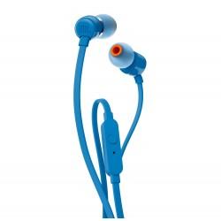 JBL- T110 Blue in ear  Headphone with mic