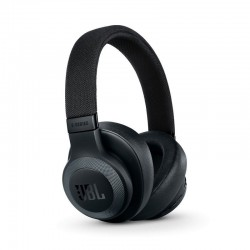 JBL E65BTNC Wireless Over-Ear Active Noise Cancelling Headphones (Black Matte)