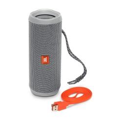 JBL Flip 4 IPX7 Waterproof Bluetooth Speakers (Grey)