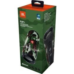 JBL Flip 4 Waterproof Portable Bluetooth Speaker (SQUAD)
