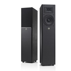 JBL Arena 170 Black 2-Way 7-Inch Floorstanding Tower Loudspeaker (Black) - Single