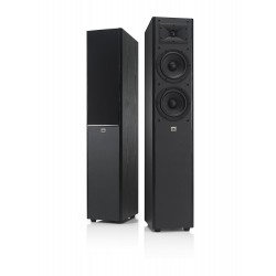 JBL Arena 180 Black 2-Way Dual 7-Inch Floorstanding Tower Loudspeaker (Black)