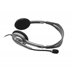 Logitech H111 Stereo Headset Black & Grey