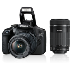 Canon EOS 1500D Kit (EF S18-55 IS II & EF S55-250 IS II)