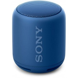 Sony Extra Bass SRS-XB10 Portable Splash-Proof Wireless Speakers with Bluetooth and NFC (Blue)