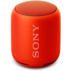 Sony Extra Bass SRS-XB10 Portable Splash-Proof Wireless Speakers with Bluetooth and NFC (RED)
