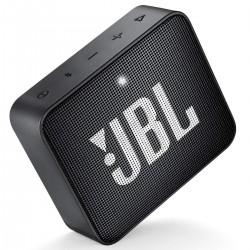 JBL Go 2 Portable Bluetooth Speaker with mic (Black)