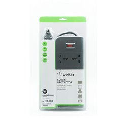 Belkin Essential Series 8-Socket Surge Protector (F9E800zb2MGRY)