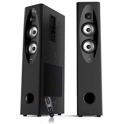 F&D T60X Tower Speakers,Black
