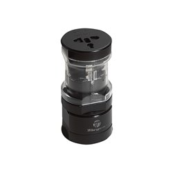 Targus APK01AP-52 World Power Travel Adapter (Black)