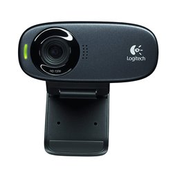 Logitech C310 HD Webcam (Black)