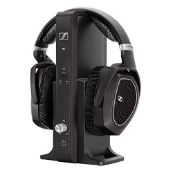 Sennheiser RS 185 RF Wireless Headphone System (Black)