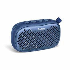 FINGERS Musilicious BT1 Portable Wireless Bluetooth-v5.0 Multifunction Speaker with Best FM - USB - AUX - MicroSD (Colour -Blue)