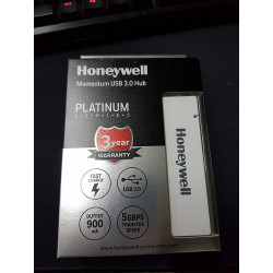 Honeywell  Momentum 4 Port USB 3.0 Hub (White)HC000004/LAP/PH/4U