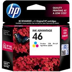 HP 46 Tri-Color Ink Advantage Cartridge