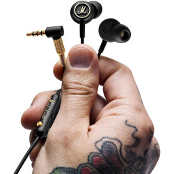 Marshall Mode EQ In ear Wired  Headphones Black