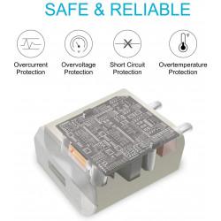 Portronics POR 898 Portable USB Adapter (White)