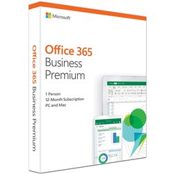 Microsoft Office 365 Business Premium Latest 1 Year Subscription, 1 User
