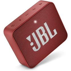 JBL Go 2 Portable Waterproof Bluetooth Speaker with mic (Red)