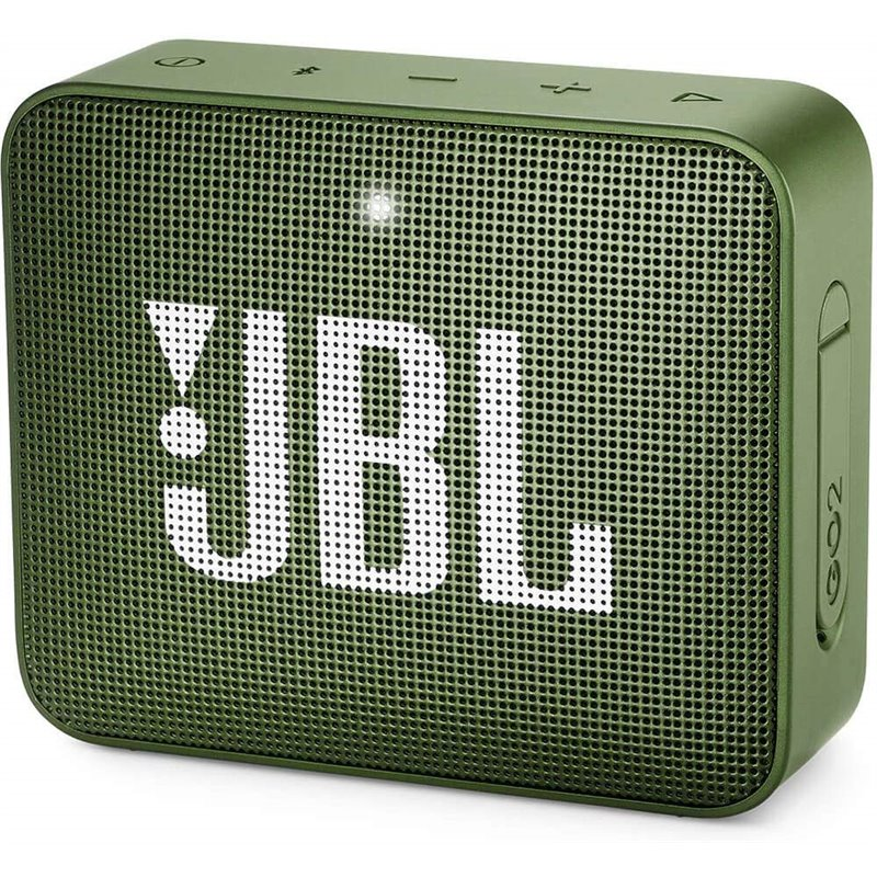JBL Go2 Portable Bluetooth Speaker - Green