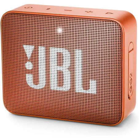 JBL Go 2 Portable Bluetooth Waterproof Speaker (Orange)