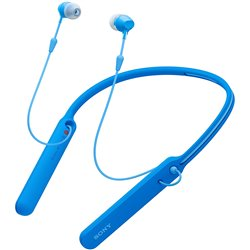 Sony WI-C400 Wireless Stereo in-Ear Headphone (Blue)