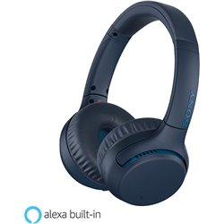 Sony WH-XB700 Wireless Extra Bass Headphones (Blue)