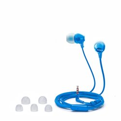Sony MDREX15AP Fashion Color EX Series Earbud Headset with Mic (Blue)