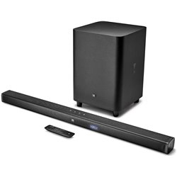 JBL Bar 3.1 4K Soundbar with Wireless Subwoofer (450 Watts, Dolby Digital, Surround Sound)