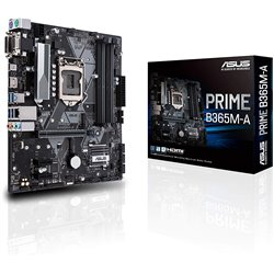 Asus B365M-A - LGA1151-9th Generation Supported Motherboard - DDR4, M.2, 64GB