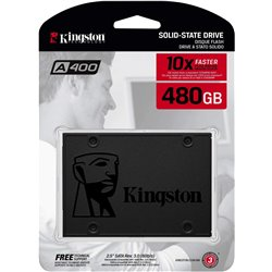Kingston SSDNow A400 480GB Internal Solid State Drive (SA400S37/480GIN)