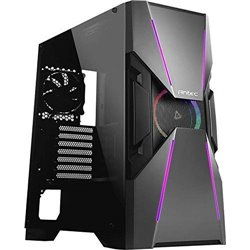 Antec Dark Avenger DA601 Mid-Tower Gaming Case with 120 mm Prizm ARGB Fan Included (Black)