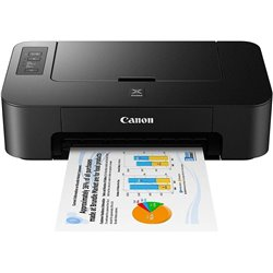 Canon Pixma TS207 Single Function Inkjet Printer (Black)