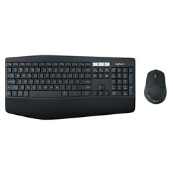 Logitech MK850 Multi-Device Wireless Keyboard and Mouse Combo, 2.4GHz Wireless and Bluetoot PC/Mac,