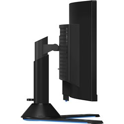 "Lenovo Legion Y44w-10 43.4"" DWUXGA Curved Screen WLED Gaming LCD Monitor  32:10  Raven, Black  NearEdgeless"