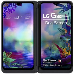 LG G8X | Dual Screen (Aurora Black, Dual OLED Screens)
