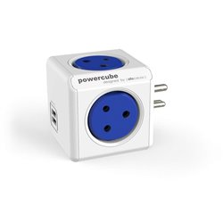 Allocacoc Power Cube Original Multiport Power Socket with Dual USB