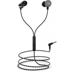 boAt BassHeads 172 Wired Headset  (Black, Wired in the ear)