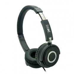 boAt Basshead 910 wired headset (black, wired over ear)