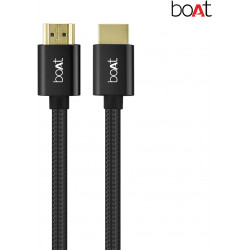 boAt para-Armour HDMI Cable - 2m (Black)