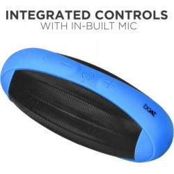 boAt Rugby 10 W Portable Bluetooth Speaker  (Blue, Stereo Channel)