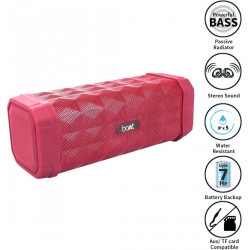 boAt Stone 650 10 W Bluetooth Speaker ( Red, Sterio Channel)