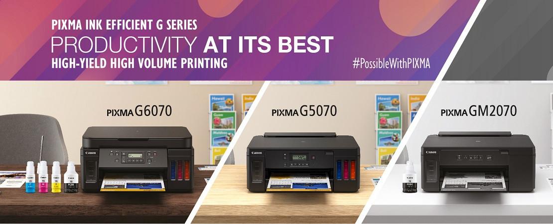 Canon Pixma Ink Tank Printers